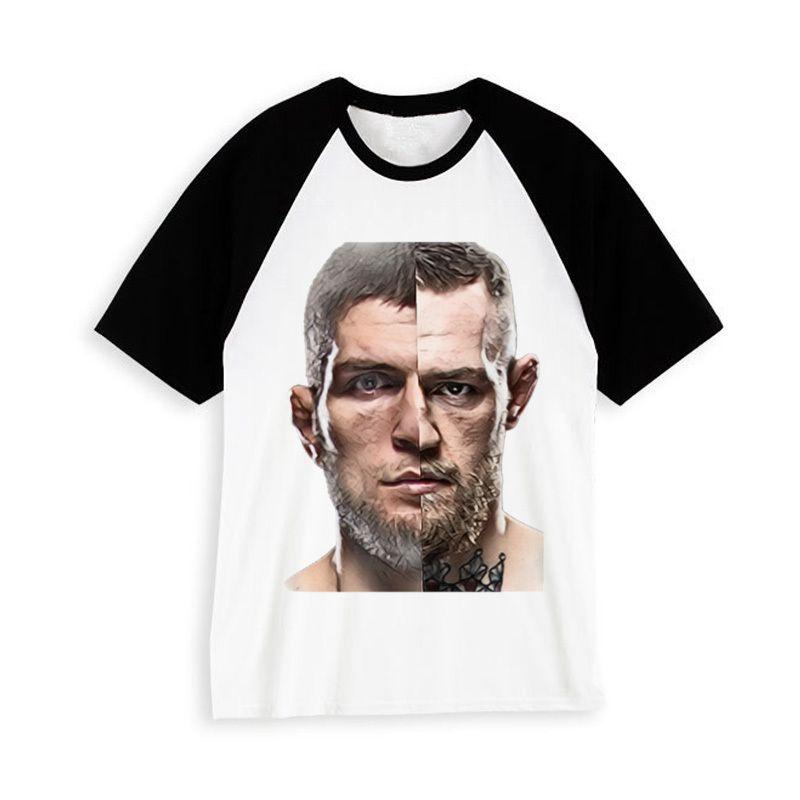 Khabib maglietta maschio divertente streetwear maglietta hip hop hip harajuku tee abbigliamento uomo per t-shirt PNN173