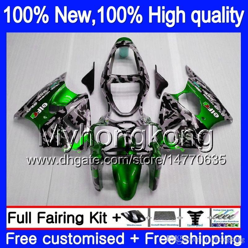 Körper für Kawasaki ZX600 600CC ZZR600 2005 2006 2007 2008 Karossergebnisse 219MY.0 ZX600CC ZZR-600 ZZR 600 05 06 07 08 Full Fouring Kit Tarnung
