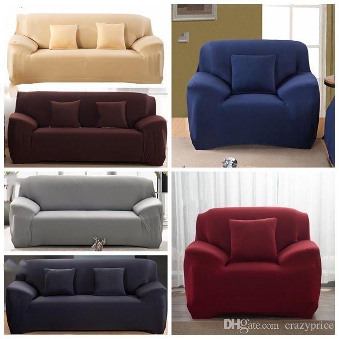 Modern Color Elastic Sofa Covers Living Room Cover Cushion Washable Slipcover