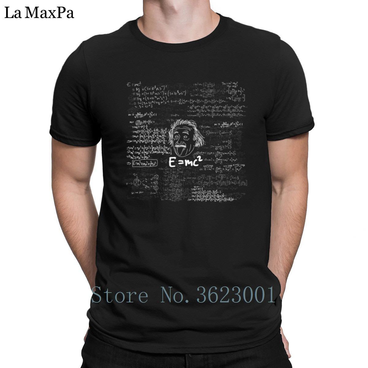 Вязаный рубашка тройник солнечного света для мужчины Е = мс2 мужчины футболка большой верхний тройник футболки для мужская футболка лучше футболка s-размер 3XL новинка
