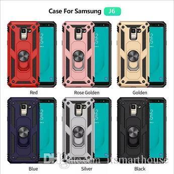 DHL-Anti-fall Handy Fall Für Samsung A10 A51 Mit Handyhalter Handy Zubehör Sechs Farben