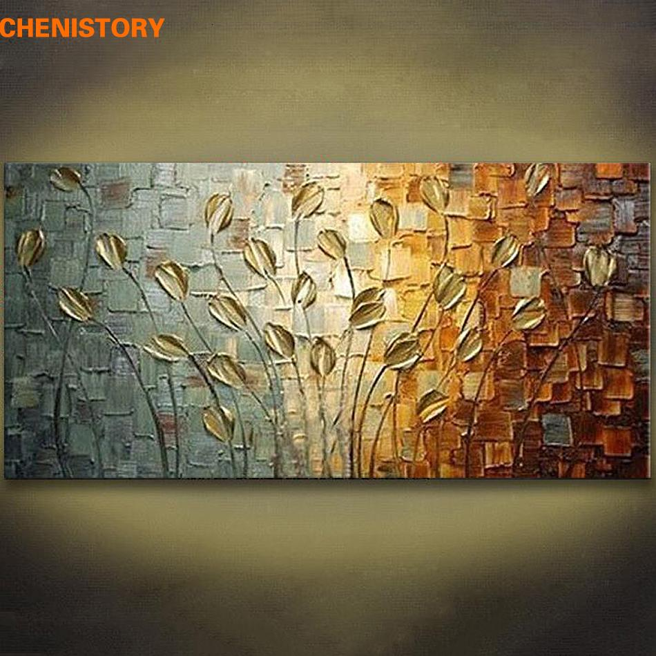 Unframed Handmade Texture Knife Flower Tree Abstract Modern Wall Art Oil Painting Canvas Home Wall Decor For Room Decoration T191202 House Decor House Decor Items From Mingjing03 25 06 Dhgate Com