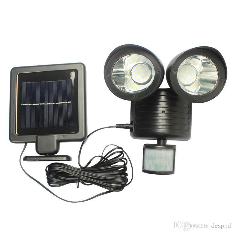 PIR Motion Sensor 22 LEDs Solar Lamp Solar Light High Power Outdoor Waterproof Street Light Security Lighting Solar Wall Lamp