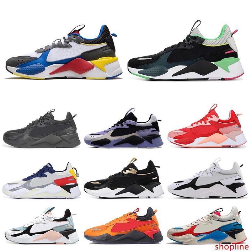 2020 NOVO RS-X Mens calçados casuais Reinvenção Cool Designer branco preto Creepers pai Chaussures Homens Mulheres Runner instrutor de esportes Sneakers 36-45