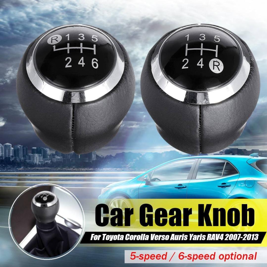 6 Speed Gear Shift Knob For Toyota Corolla 2007 2008 2009 2010 2011 2012 2013