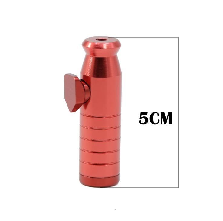 Bullet 5 cm de alumínio portátil tubulação colorida liga rosca djsso