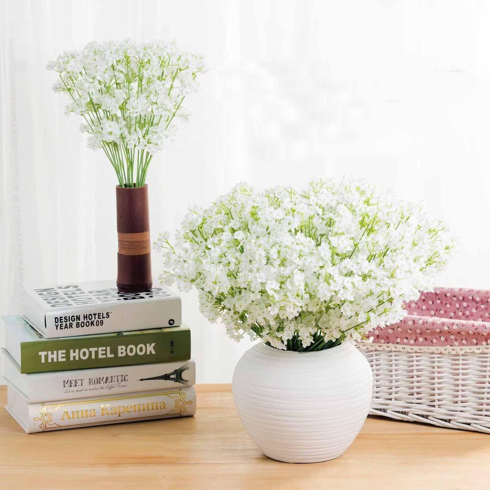 الزهور الاصطناعية النجوم gypsophila النباتات وهمية الحرير زهرة النبات الرئيسية حفل زفاف الديكور الحرير زهرة الفتيات النساء هدية عيد XD20355