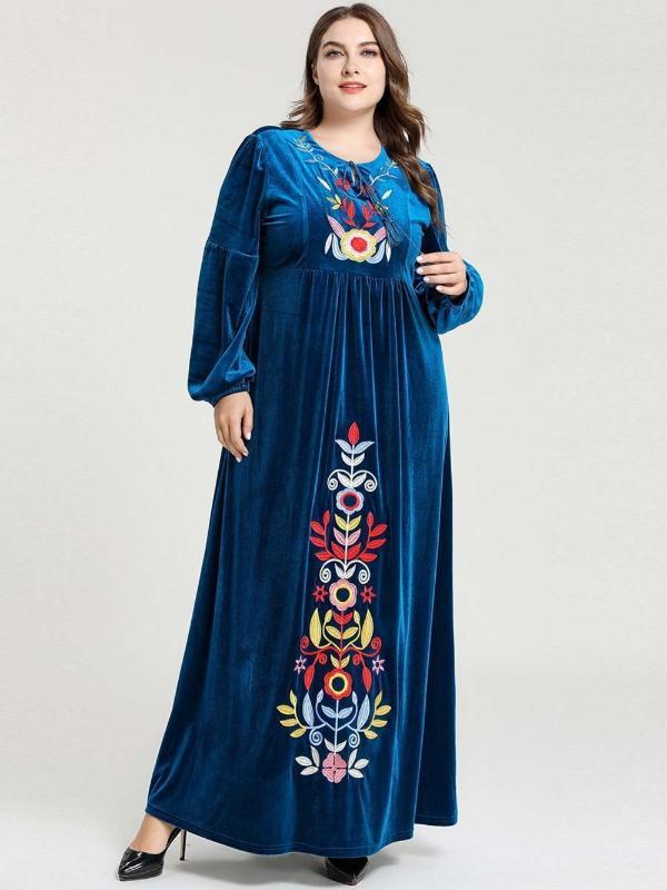 Nuevo hijab musulmán Abaya vestimenta de las mujeres islámicas vestidos de noche elegante Dubai musulmana vestido vestidos de noche
