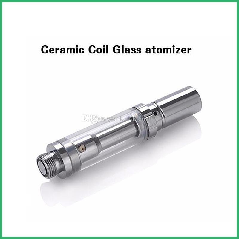 Eletrônico Cigarro de Pirex tanque de Vidro bobina de cerâmica Atomizador BUD Touch O caneta BUD Carrinhos CE3 CO2 vaporizador de óleo vape mods e cig