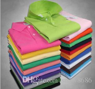 Yeni timsah Erkek Tasarımcı Polo T Shirt Erkekler Polo Homme Yaz Polos Gömlek Nakış Polos T Gömlek High Street Trend Gömlek En Tee