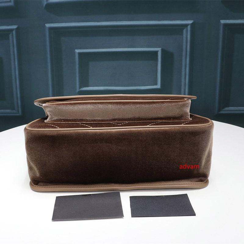 Kış tasarımcı 2020 marka moda lüks tasarımcı çanta kadife Messenger çanta moda omuz Oluklu VINTAGE tasarımcı crossbody çantası