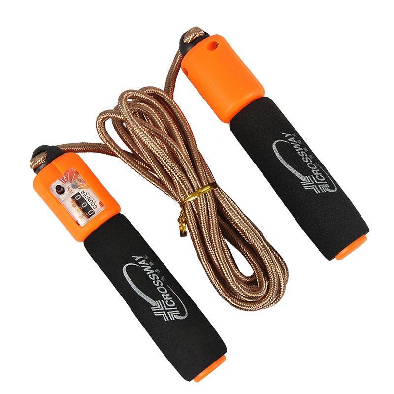 Salta fitness Corda Con contatore regolabile corda da salto tessile Sport Crossfit Palestra Fitness Apparecchiature Body Building