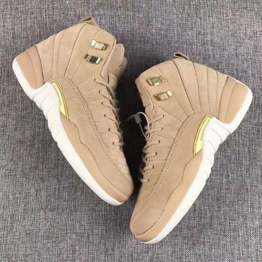 Novos 12 Vachetta Tan Khaki ouro mulheres homens sapatos casuais frete grátis Qualidade 12s casuais sapatos tamanho 5,5-13 desconto frete grátis