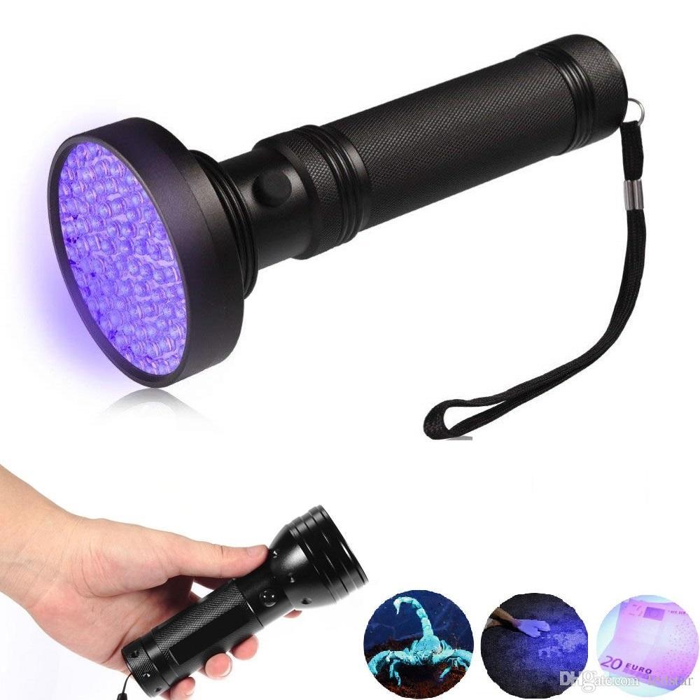 LED UV 손전등 횃불 UV 접착제 UV LED 손전등 다기능 51 LED 자외선 토치 알루미늄 램프