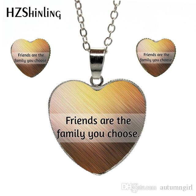 new fashion funny letter friendship quotes heart heart