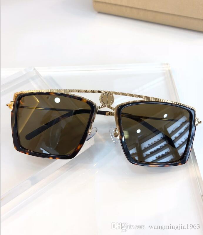 Neue Top-Qualität 6053 der Männer Sonnenbrille Männer Sonne Frauen Sonnenbrille Mode-Stil Gläser schützt Augen Gafas de sol lunettes de soleil mit Box