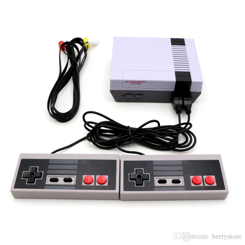New Mini Video Handheld Game Console Can Store 620 Games NES And Retail Boxs Free Shipping