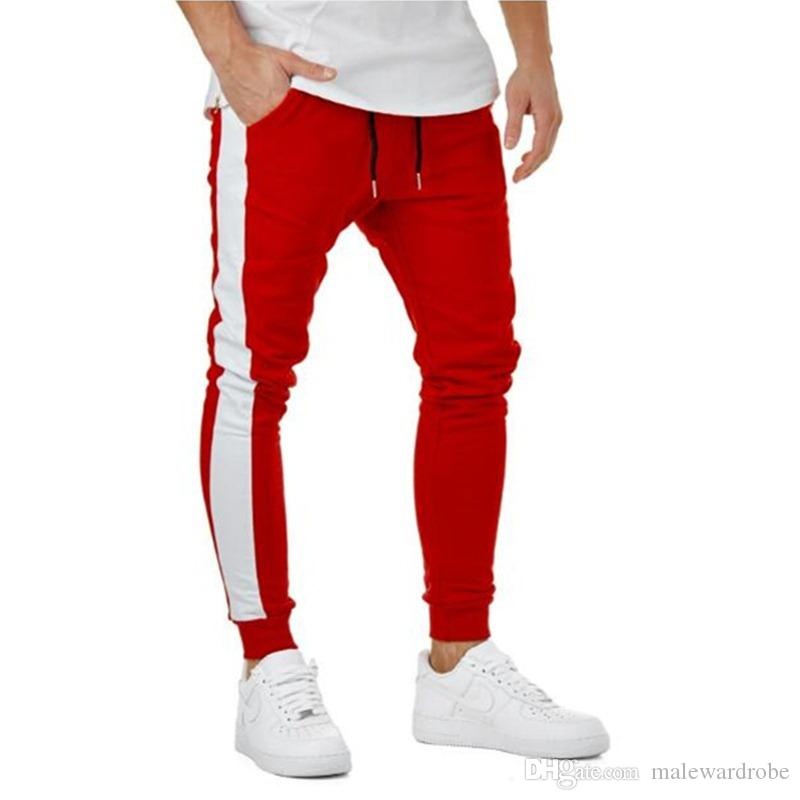 Jogger Pants for Men Women Pencil Pants Striped Casual Sports Designer Long Pants Clothing