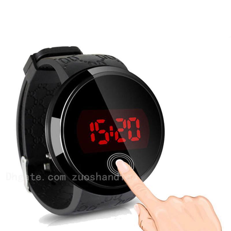 Estudiante de moda de alta calidad de la pantalla táctil LED reloj electrónico Hombres Y Mujeres Relojes regalo al aire libre reloj deportivo