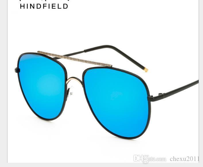 Gafas de almeja polarizantes comunes para hombres y mujeres pilotos gafas de sol polarizantes