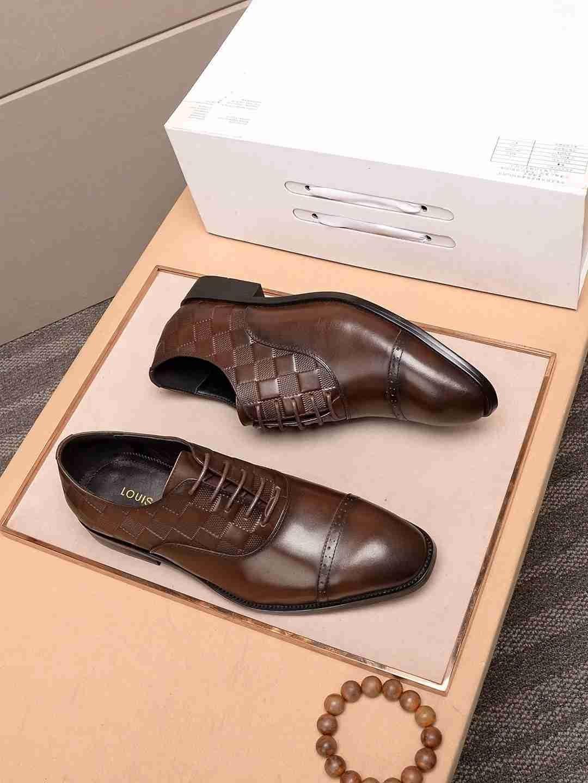 패션 남성 공식적인 비즈니스 드레스 웨딩 편안한 낮은 굽의 가죽 신발 조수