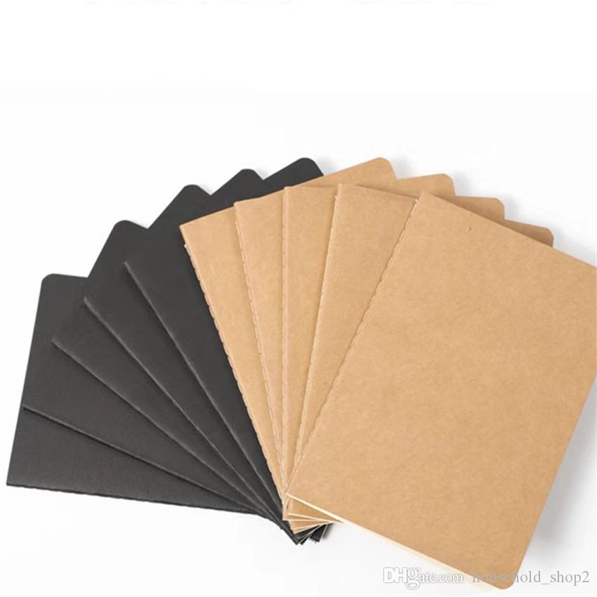 B5 كرافت ورقة دفتر اليد نسخة الغلاف دفاتر فارغة غرزة المفكرة كرافت تغطية الدفاتر اليومية ورقة مجلة القرطاسية A05