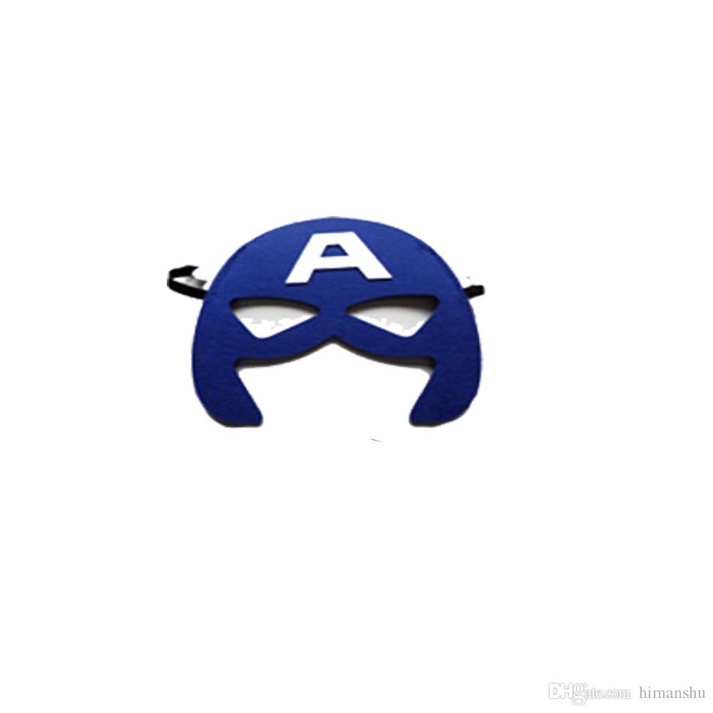 Acheter 5 Tailles Double Face Super Heros Cap Et Masque Cosplay