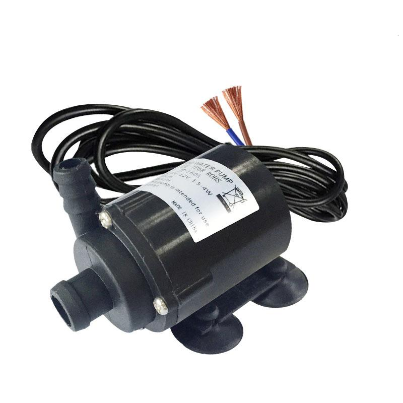 Mini 12V DC Submersible Water Pump 6V/12V Mini Water Pump 150-280L/H Flow Can Be Used Under Water Diving And Land Type