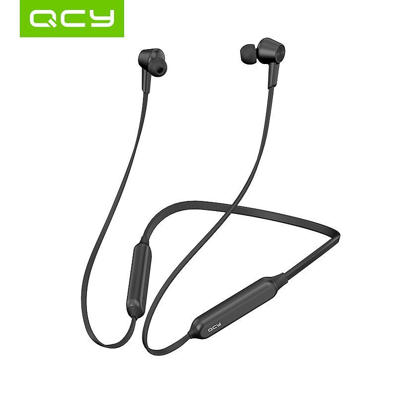 QCY L2 Wireless Headphones IPX5 Waterproof ANC Noise cancelling Wireless Earphones Bluetooth 5.0 Sport Headphones with Mic