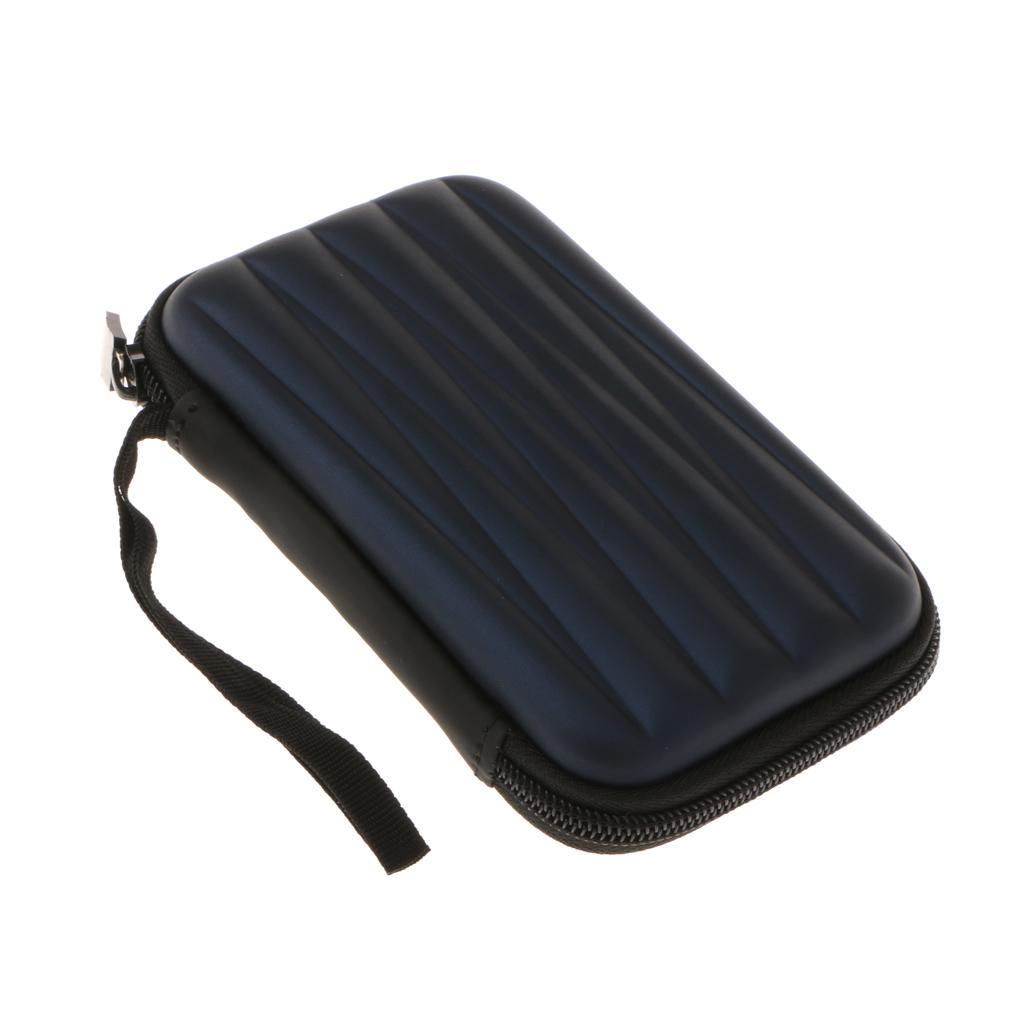 Carry antichoque del recorrido del almacenaje caso de la bolsa de 2.5 disco duro externo / auriculares / cable