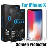Bigbang Премиум Screen Protector для iPhone 11 про макс Xs Max 8 7 Plus закаленное стекло Protect пленка для Galaxy J7 2017 с пакетом