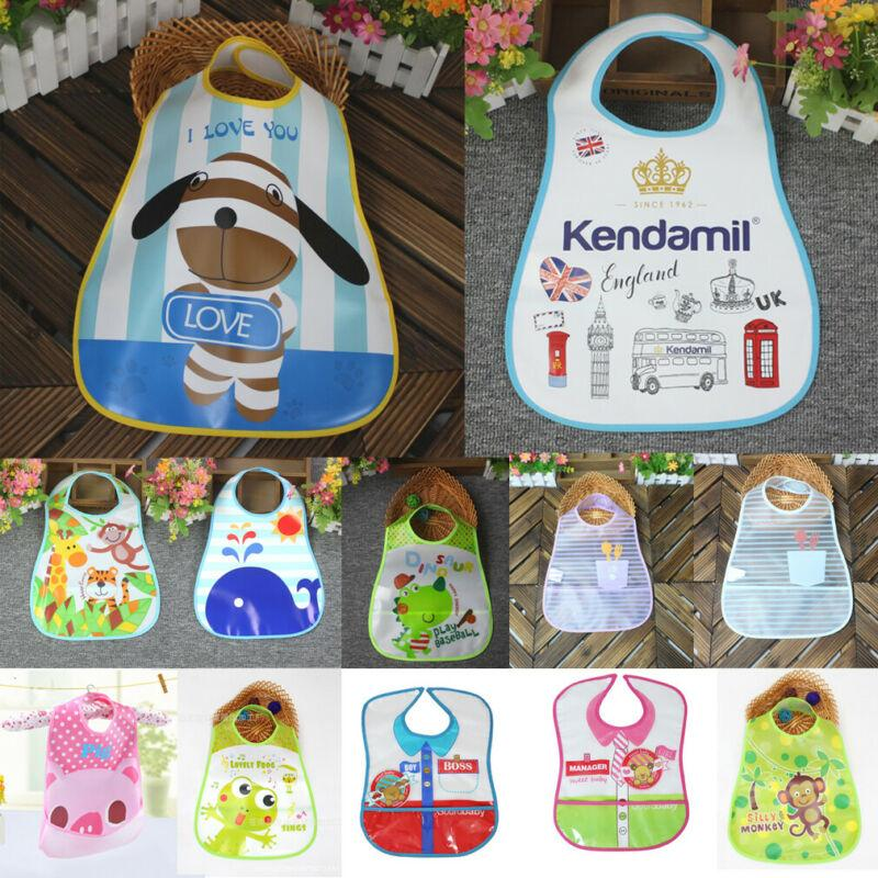Practical Baby Kid Cotton Bandana Bibs Feeding Smock Towel Dribble Soft Bibs
