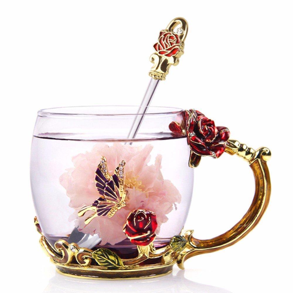 Vetro di caffè tazze di tè Tazze 2020 Presents regalo festa della mamma unico migliore amico di compleanno per la mamma Donne sue ragazze nonna