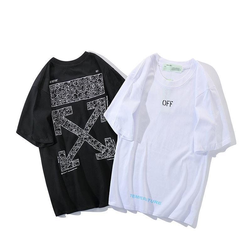 Luxury Designer Couple T Shirt Fashion Brand Tokyo Limited Skull Arrows T Shirt Street Trend Couple Summer Short Tee T Shirts For T Shirt For From Off007 18 69 Dhgate Com