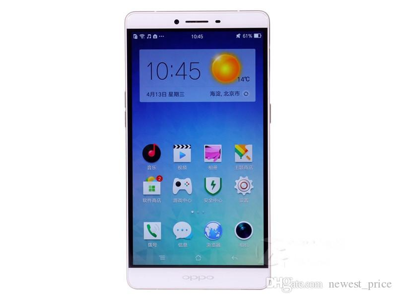 Original OPPO R7 Plus 4G LTE Cell Phone 4GB RAM 64GB ROM Snapdragon 615 Octa Core Android 6.0 inch 13MP Fingerprint ID Smart Mobile Phone