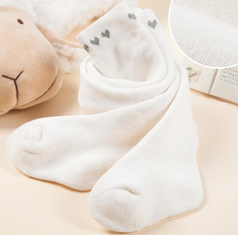 0-18M 3color Recém-nascido Bebé Meninas calças justas Inverno do bebê meias de algodão Long Tubo calças justas Princesa Infante recém-nascido Pantyhose Stockings