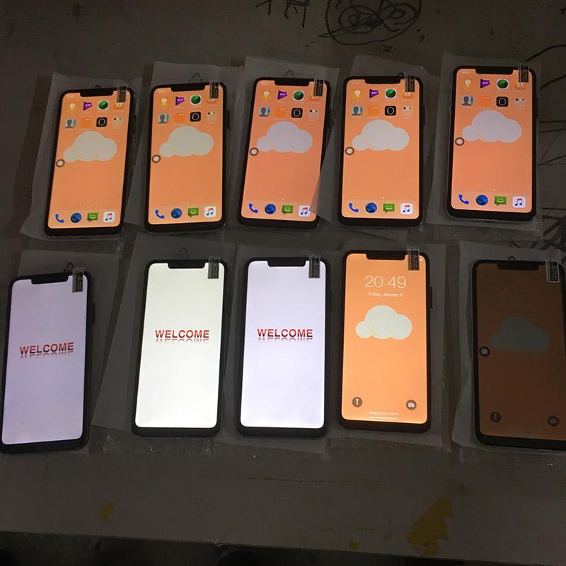 6.5 pollici Goophone i11 Pro Max Con Verde Tag Sealed ricarica wireless Face ID WCDMA 3G Quad Core Ram 1GB ROM 16GB fotocamera 8.0MP Visualizza 512GB