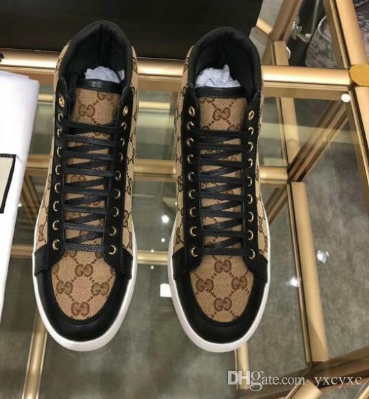 2020 Velvet черные мужские и женские бутик обуви красивые толстой подошвой случайные кроссовки горячей продажи кожа сплошной цвет платье # 6820 обувь