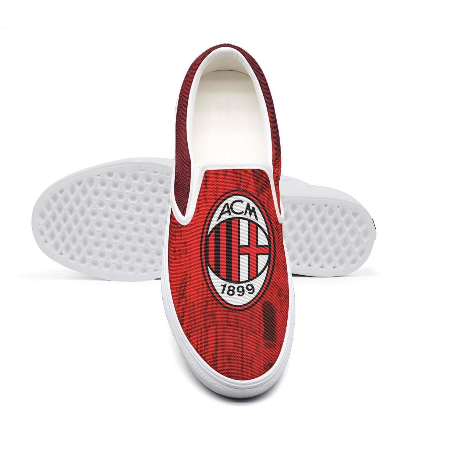 Casual A C Milan I Rossoneri L Diavolo Acm Gradient City Unisex Canvas Low Top Non Slip Shoes Design Print Classic Limited Edition Red Tennis Shoes Ladies Shoes From Banwanzhe 30 76 Dhgate Com