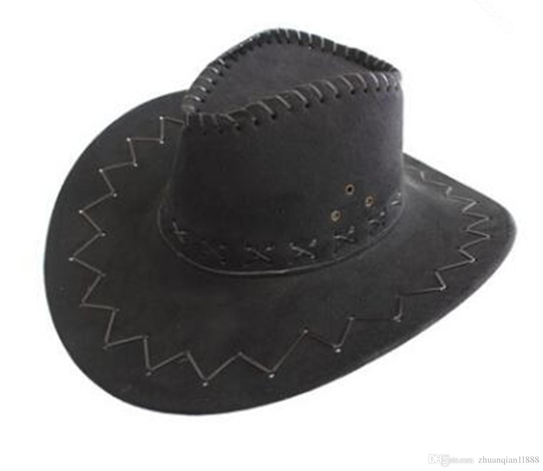 2 Pairs Western Cowboy hat Mongolian Grassland Visor Summer Outdoor Travel Knight hat