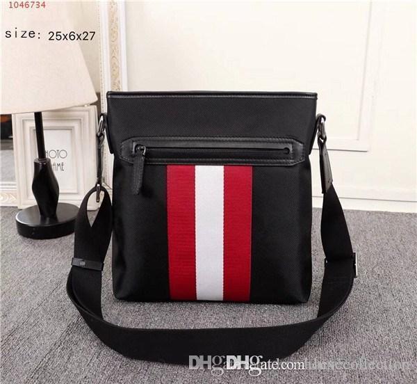 Die neueste Mode klassische Taschen, schwarze Farbe quadratische Querleichensack Art und Weise einzelne Schulterbeutel für Männer verwenden