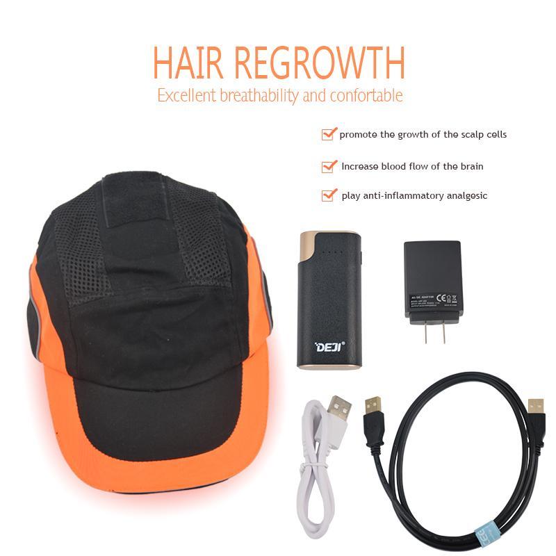 650nm ليزر نمو الشعر كاب شعري رموث أنظر خوذة 276 الثنائيات علاج سريع regrow
