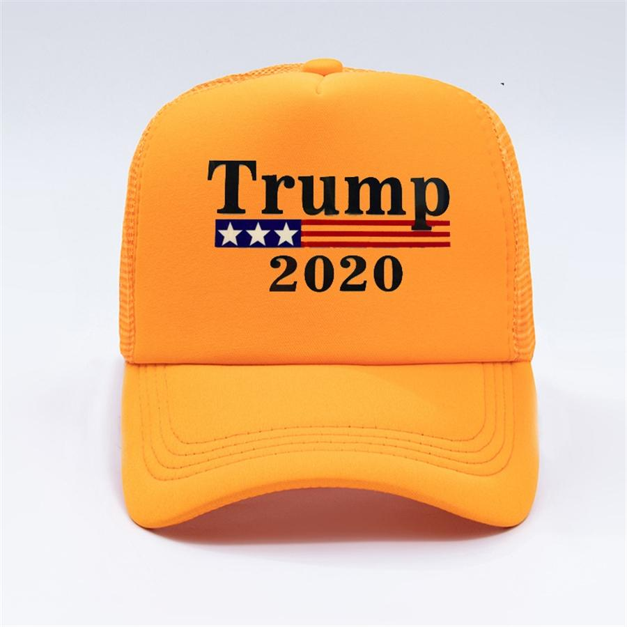Cumhurbaşkanlığı Sıcak Yüksek Kalite Amerikan Başkanı Trump Kamuflaj Beyzbol şapkası Trump2020 Şapka Nakış Baskı Beyzbol şapkası Wcw507 # 166