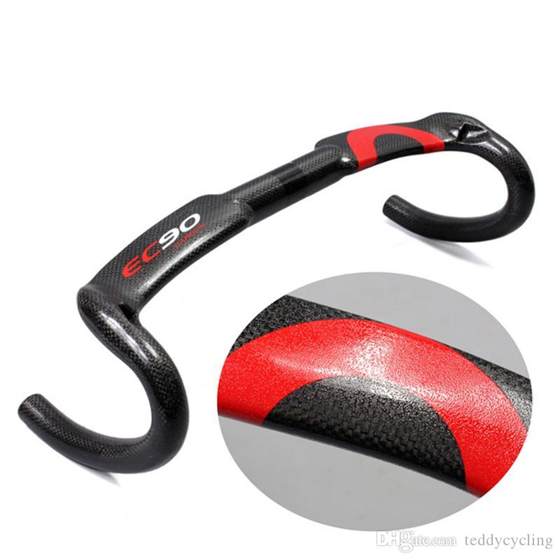 2017 New Particle color design Carbon fully bent bar carbon fiber road bike handlebar 3K 40/42 / 44cm Internal cable