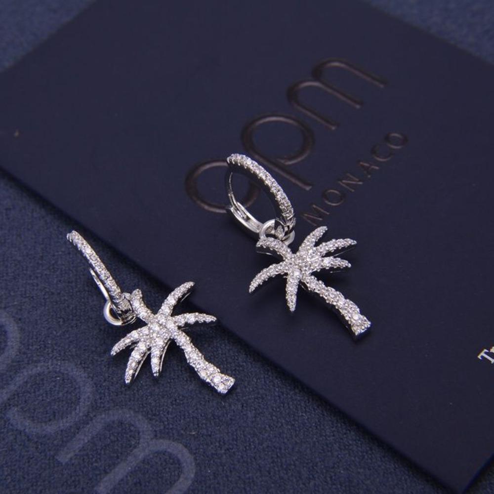 orecchini di fascino delle donne nuova WSJ000 gioielli con il regalo squisita confezione # 111402 nome