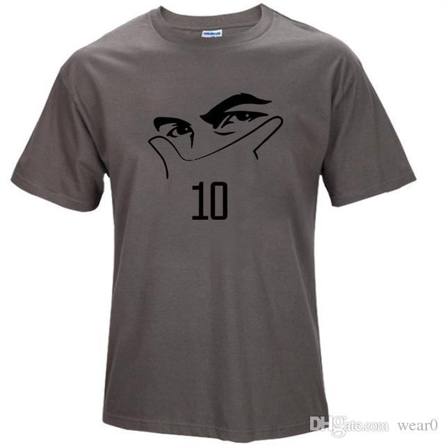 2019 mens designer t shirts Short Sleeve Cotton T Shirts Man Clothing Paulo Dybala mask Custom Men Tshirt Size S-XXL T-Shirt Summer Style
