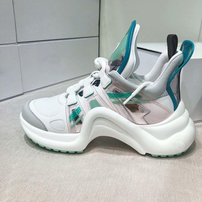 Последние дизайнерские туфли роскошные модные брендовые женские дизайнерские кроссовки последние высококачественные повседневные туфли размер 35-40 модель CL05