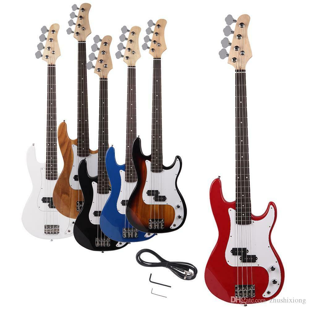 Yeni Yüksek Kalite 4 Strings Sağ Elektrikli Bas Gitar Handed
