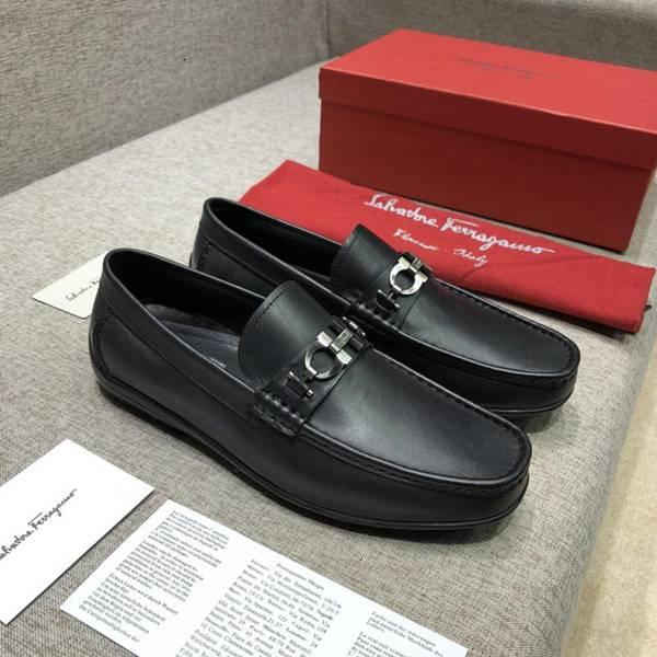 Men genuine leather shoes loafers slip italian male dress flattie casual really