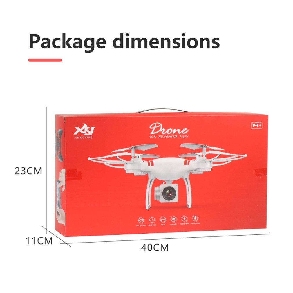 KY101D Drone 4K RC Helicopter with HD WIFI FPV 16MP Camera 2.4G 4 axis RC Quadcopters Drones 22 Minutes Long fly Time Dron